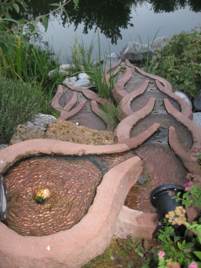 Der BIO-Garten mit Schwimmteich, 2012